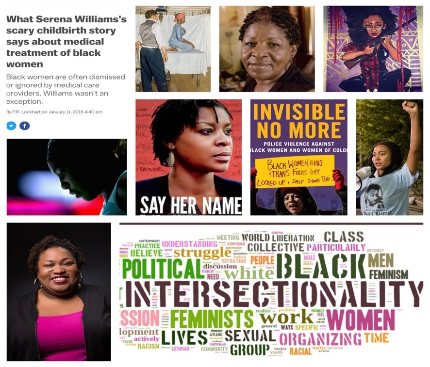 #SayHerName: Examining the Invisibility of Black Women and Girls in Literature, Media, Medicine, and the Justice System