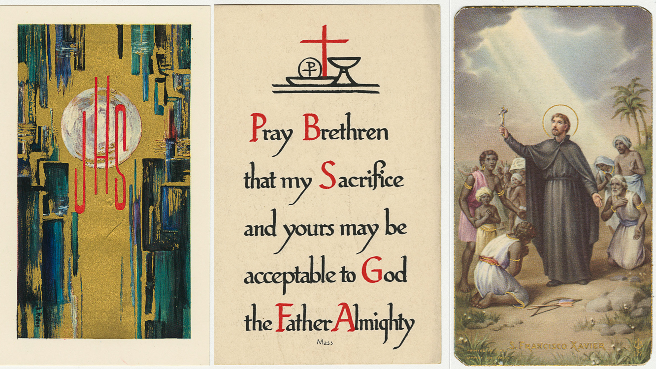 Jesuit Memorial Holy Cards