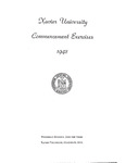 Xavier University Commencement Exercises, 1942