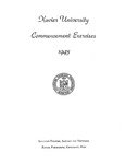 Xavier University Commencement Exercises, 1943