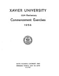 Xavier University 125th Anniversary Commencement Exercises, 1956