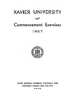 Xavier University 119th Commencement Exercises, 1957