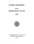 Xavier University 124th Commencement Exercises, 1962