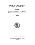 Xavier University 127th Commencement Exercises, 1965