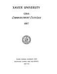 Xavier University 129th Commencement Exercises, 1967