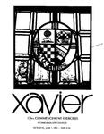 Xavier University 136th Commencement Exercises, Undergraduate Colleges, 1974
