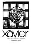 Xavier University 137th Commencement Exercises, Undergraduate Colleges, 1975