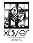 Xavier University 138th Commencement Exercises, Undergraduate Colleges, 1976