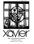 Xavier University 140th Commencement Exercises, Undergraduate Colleges, 1978