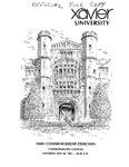 Xavier University 145th Commencement Exercises, Undergraduate Colleges, 1983