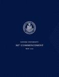 Xavier University 182st Commencement, May 2020 by Xavier University, Cincinnati, OH