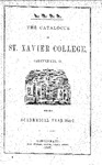 1846-47 Xavier University Course Catalog