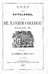 1847-48 Xavier University Course Catalog