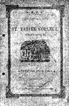 1848-49 Xavier University Course Catalog
