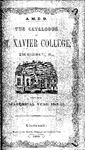 1849-50 Xavier University Course Catalog