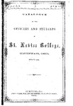1861-62 Xavier University Course Catalog