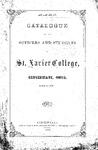 1862-63 Xavier University Course Catalog