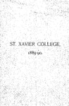 1889-90 Xavier University Course Catalog