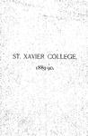 1889-90 Xavier University Course Catalog