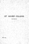 1914-15 Xavier University Course Catalog