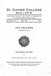 1921 May Xavier University Course Catalog