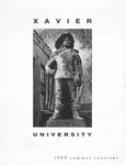 1989 Xavier University Summer Sessions Class Schedule Course Catalog