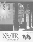 1992 Xavier University Summer Sessions Class Schedule Course Catalog