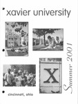 2001 Xavier University Summer Sessions Class Schedule Course Catalog