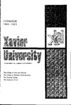 1964-1965 Xavier University College of Arts and Sciences, College of Business Administration, Evening College, Graduate School Course Catalog