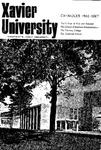 1966-1967 Xavier University College of Arts and Sciences, College of Business Administration, Evening College, Graduate School Course Catalog