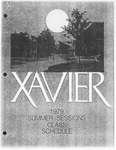 1979 Xavier University Summer Sessions Course Catalogue