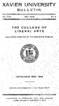 1945-1946 Xavier University College of Liberal Arts and Graduate Division Course Catalog