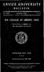 1947-1948 Xavier University College of Liberal Arts and Graduate Division Course Catalog