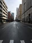 Downtown Cincinnati, March 28, 2020 by Richard Polt