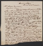 Andrew Jackson letter to Moses Dawson by Andrew Jackson