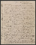 Andrew Jackson letter to Moses Dawson