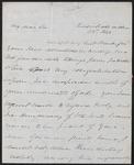 Martin Van Buren letter to Moses Dawson