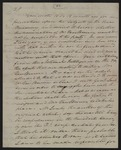 William Berkeley Lewis letter to Moses Dawson, 1831