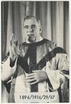 John Benson memorial holy card