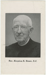 Aloysius Breen memorial holy card