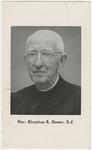 Aloysius Breen memorial holy card