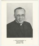 J. Peter Buschmann memorial holy card