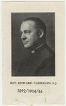 Edward Carrigan memorial holy card