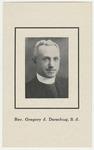 Gregory Derschug memorial holy card