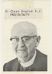 Owen Englum memorial holy card