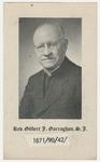Gilbert J. (Gilbert Joseph) Garraghan memorial holy card
