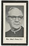 John Grace memorial holy card