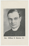 William Hennes memorial holy card