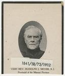 Rudolph Meyer memorial holy card