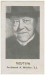 Ferdinand Moeller memorial holy card
